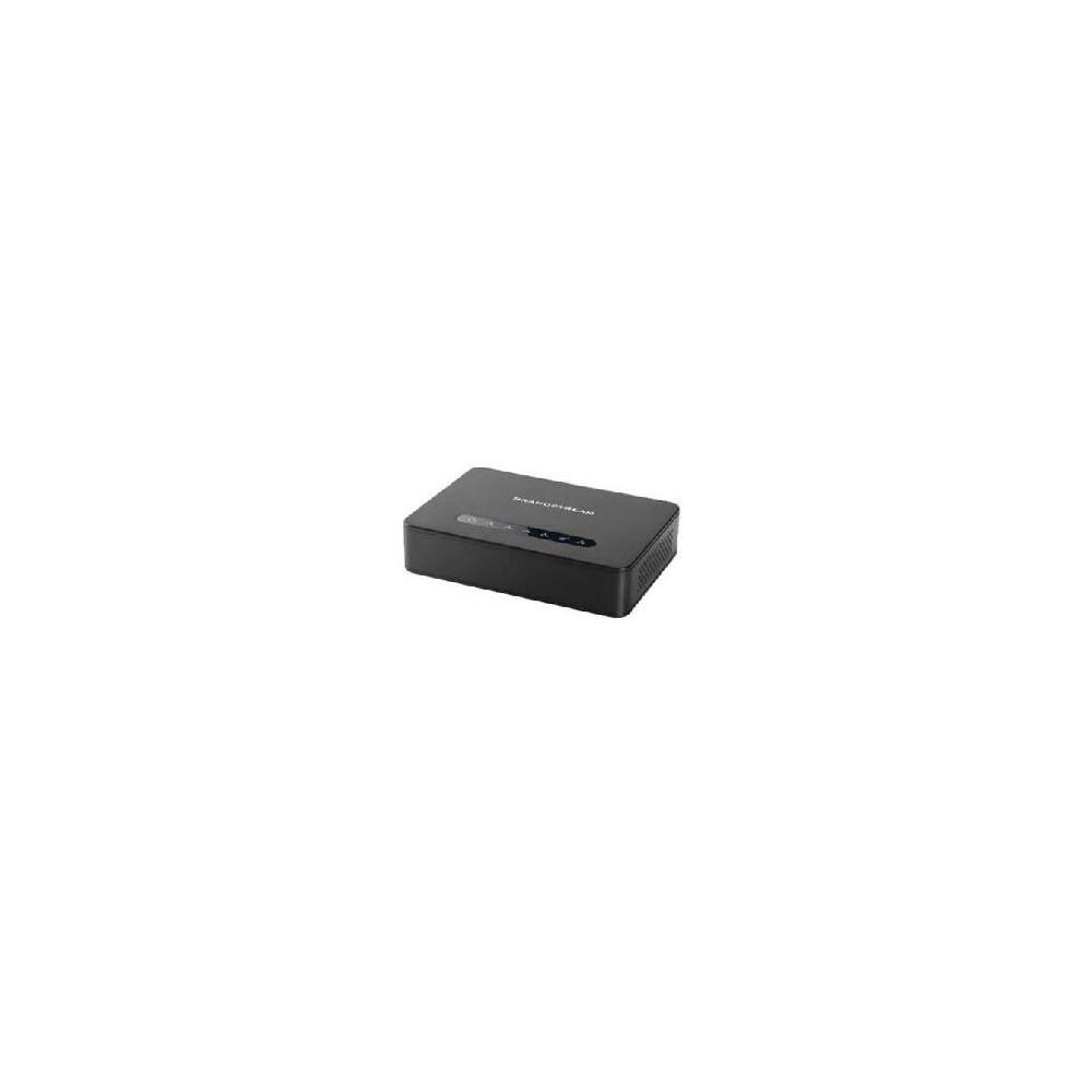 Adaptador telefonico analogico grandstream ht814 ata 4x fsx gigabyte router nat integrado - Imagen 1