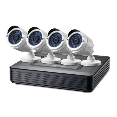 LevelOne DSK-8001 kit de videovigilancia Alámbrico 4 canales - Imagen 1