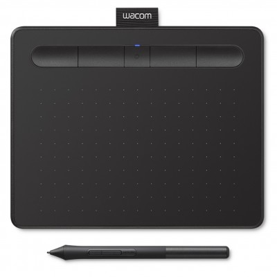 Tableta digitalizadora wacom intuos s confort ctl - 4100wlk - s negro -  bluetooth - Imagen 1