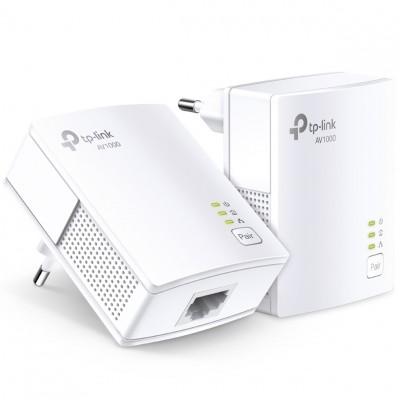 Kit de adaptadores powerline tp - link tl - pa7017 kit gigabit av1000 - Imagen 1