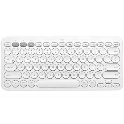 Logitech K380 teclado Bluetooth QWERTZ Español Blanco - Imagen 1