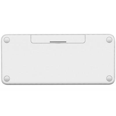 Logitech K380 teclado Bluetooth QWERTZ Español Blanco - Imagen 2