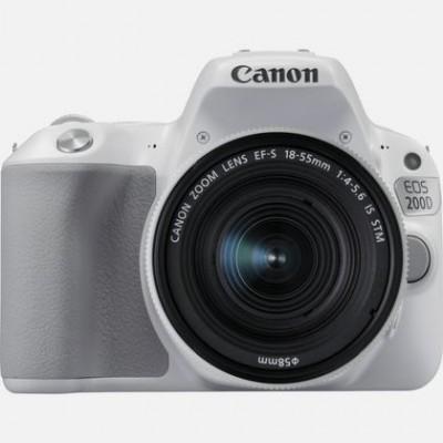 Canon EOS 200D + 18-55 IS STM Juego de cámara SLR 24,2 MP CMOS 6000 x 4000 Pixeles Blanco - Imagen 1