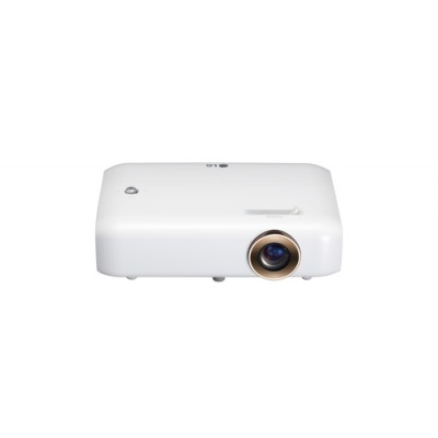 LG PH550G videoproyector 550 lúmenes ANSI DLP 720p (1280x720) 3D Proyector para escritorio Blanco - Imagen 1