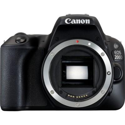 Canon EOS 200D Cuerpo de la cámara SLR 24,2 MP CMOS 6000 x 4000 Pixeles Negro - Imagen 1