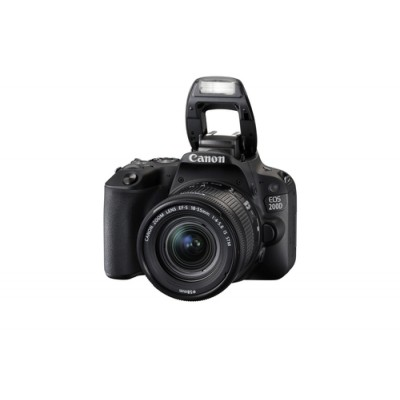 Canon EOS 200D + EF-S 18-55mm 4.0-5.6 IS STM Juego de cámara SLR 24,2 MP CMOS 6000 x 4000 Pixeles Negro - Imagen 2