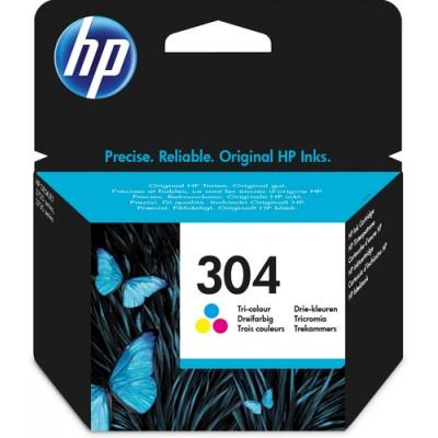 HP 304 Original Cian, Magenta, Amarillo - Imagen 1