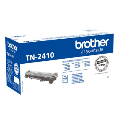 Brother TN-2410 cartucho de tóner Original Negro 1 pieza(s) - Imagen 1