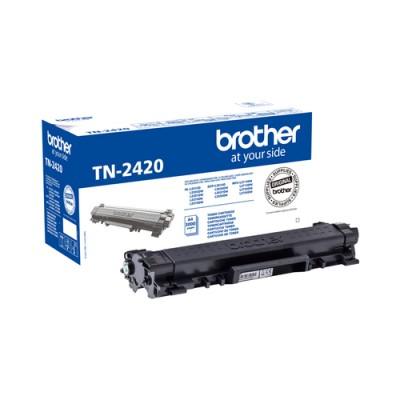 Brother TN-2420 cartucho de tóner Original Negro 1 pieza(s) - Imagen 1