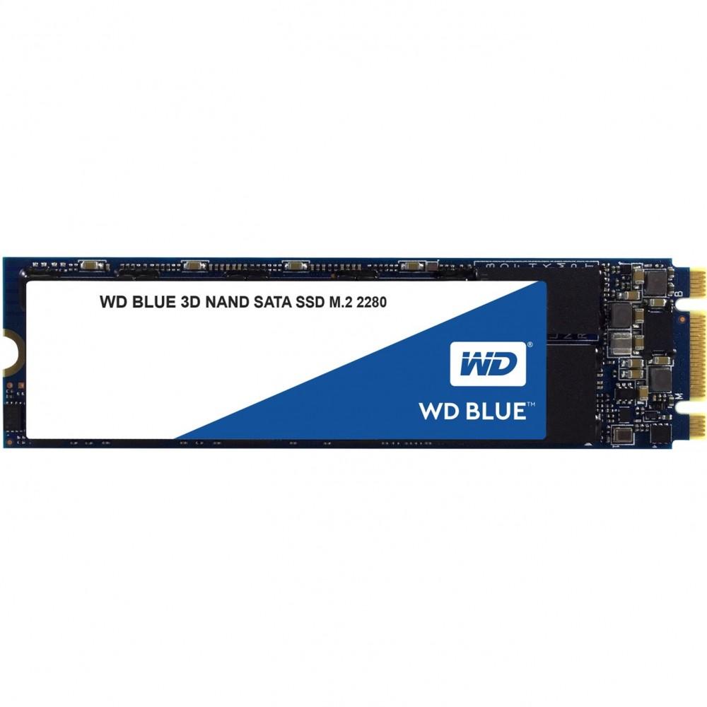 Disco duro interno solido hdd ssd wd western digital blue wds500g2b0b 500gb m.2 2280 sata 6 gb - s - Imagen 1