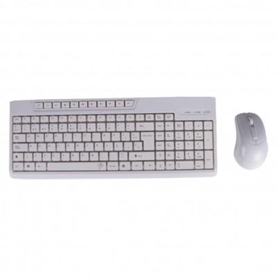 Kit teclado + raton blanco black lion office multimedia bl - 1901 - Imagen 1