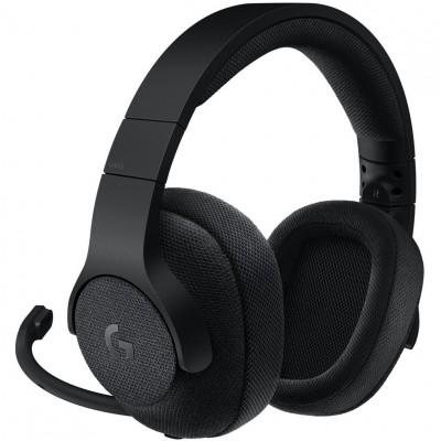 Auriculares logitech g433 7.1 surround gaming negro - Imagen 1