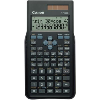 Canon F-715SG calculadora Bolsillo Calculadora científica Negro - Imagen 1