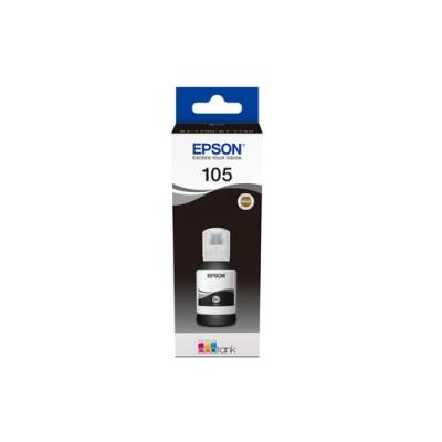 Epson 105 EcoTank Pigment Black ink bottle - Imagen 1