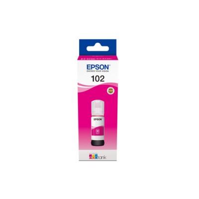 Epson 102 EcoTank Magenta ink bottle - Imagen 1