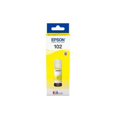 Epson 102 EcoTank Yellow ink bottle - Imagen 1