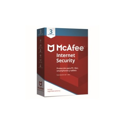 Antivirus mcafee internet security 2019 3 dispositivos - Imagen 1