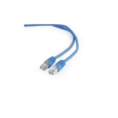 Cable red latiguillo rj45 ftp cat 6 0.5m  azul - Imagen 1