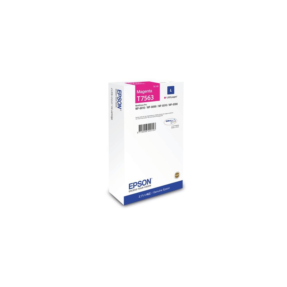 Epson Cartucho T7563 magenta L - Imagen 1