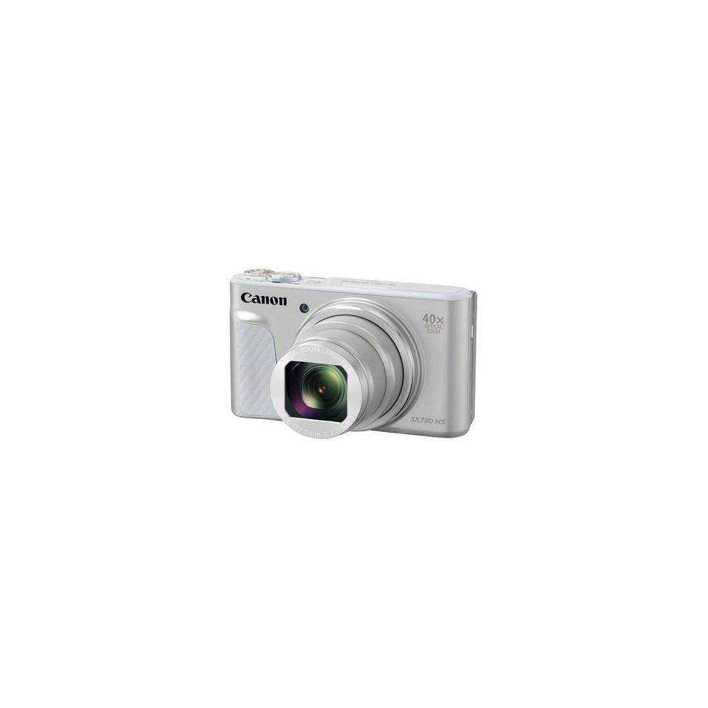 "Canon PowerShot SX730 HS Cámara compacta 20,3 MP CMOS 5184 x 3888 Pixeles 1/2.3"" Plata - Imagen 1"