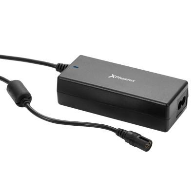 Adaptador cargador de corriente universal automatico 90w phoenix phcharger90l - c (incluye 12 conectores)  para portatiles - net