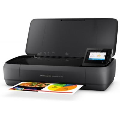 HP OfficeJet 250 Inyección de tinta térmica 4800 x 1200 DPI 10 ppm A4 Wifi - Imagen 7