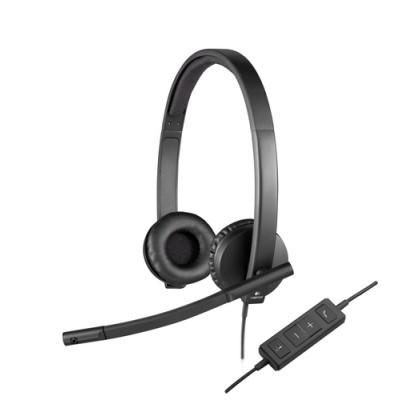 Logitech H570e Auriculares Diadema Negro - Imagen 1