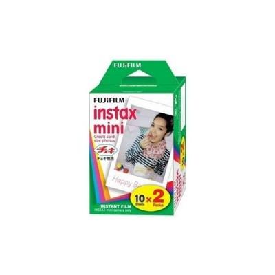 Pack 2 cartuchos - carga fujifilm 10 fotos instax  mini - Imagen 1