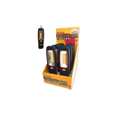 Expositor 8 unidades linterna led kodak multiusos 200 lumens iman - gancho - Imagen 1