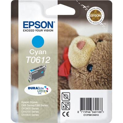 Epson Teddybear Cartucho T0612 cian - Imagen 1
