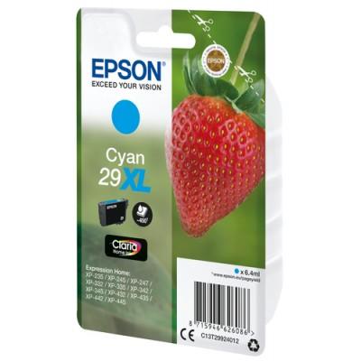 Epson Strawberry Singlepack Cyan 29XL Claria Home Ink - Imagen 2