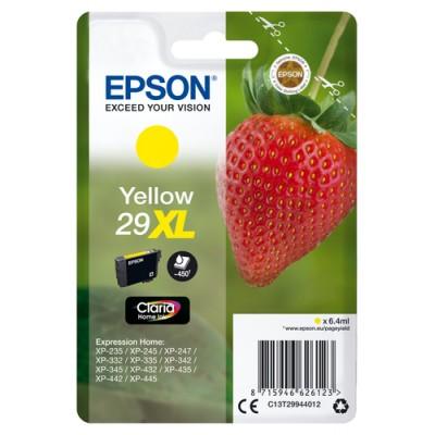 Epson Strawberry Singlepack Yellow 29XL Claria Home Ink - Imagen 1