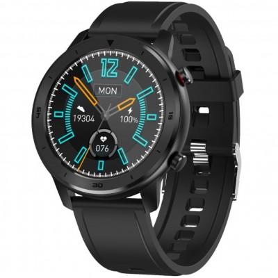 Reloj innjoo smartwatch voom sport correa negra -  1.33pulgadas -  health tracker -  bt music controller - Imagen 1