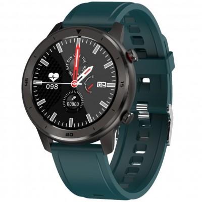 Reloj innjoo smartwatch voom sport correa verde -  1.33pulgadas -  health tracker -  bt music controller - Imagen 1