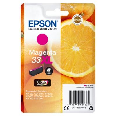 Epson Oranges Singlepack Magenta 33XL Claria Premium Ink - Imagen 1