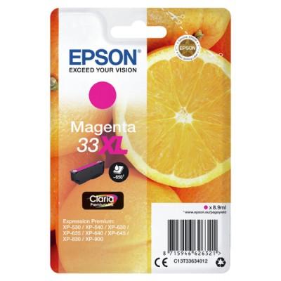 Epson Oranges Singlepack Magenta 33XL Claria Premium Ink - Imagen 2