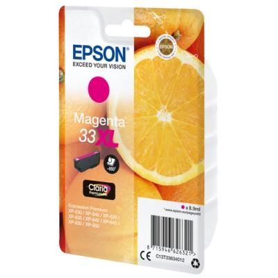 Epson Oranges Singlepack Magenta 33XL Claria Premium Ink - Imagen 3
