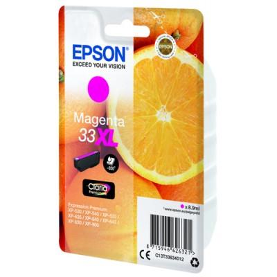 Epson Oranges Singlepack Magenta 33XL Claria Premium Ink - Imagen 4