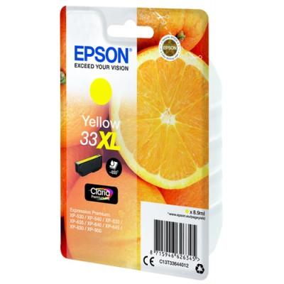 Epson Oranges Singlepack Yellow 33XL Claria Premium Ink - Imagen 2