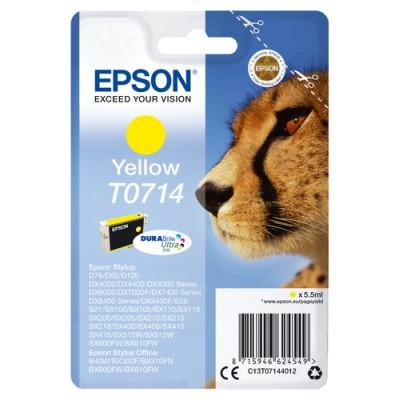 Epson Cartucho T0714 amarillo - Imagen 1
