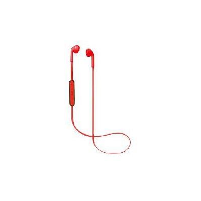 Auriculares bluetooth de boton nevir rojo - Imagen 1