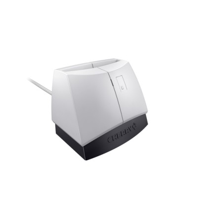 CHERRY SmartTerminal ST-1144 lector de tarjeta inteligente Negro, Gris USB 2.0 - Imagen 1