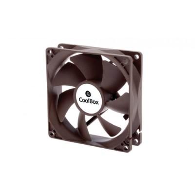 CoolBox COO-VAU080-3 ventilador de PC Carcasa del ordenador 8 cm - Imagen 1