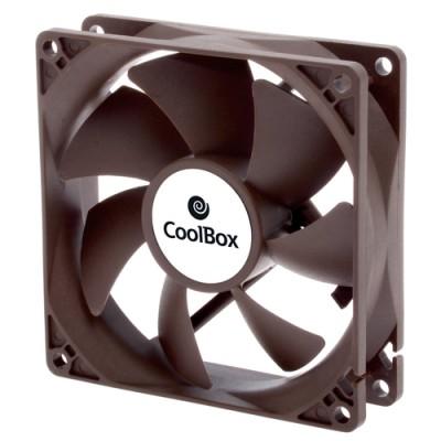 CoolBox VENCOOAU090 Carcasa del ordenador Ventilador 9 cm Negro - Imagen 1