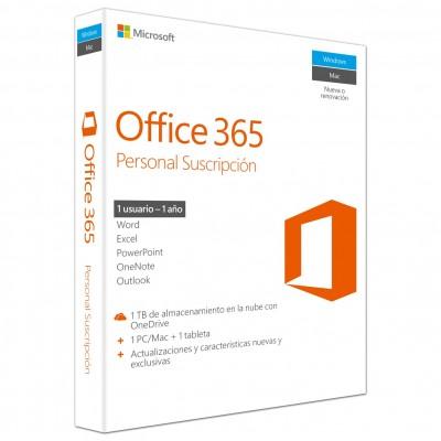 Office 365  personal esd (descarga directa) 1 año - Imagen 1