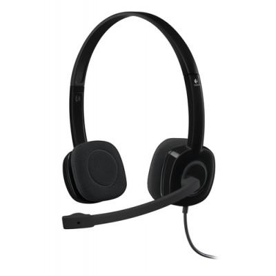 Logitech H151 Auriculares Diadema Negro - Imagen 1