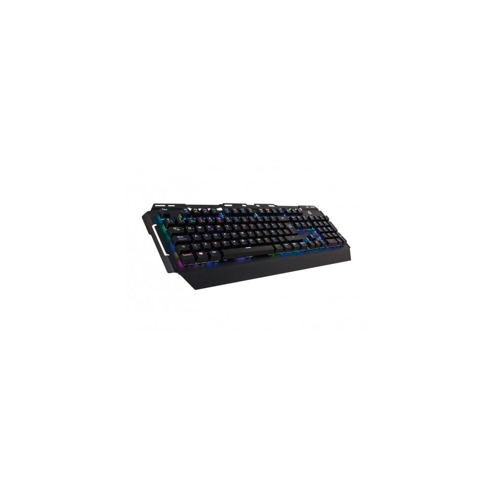 Conceptronic KRONIC teclado USB QWERTY Español Negro - Imagen 1