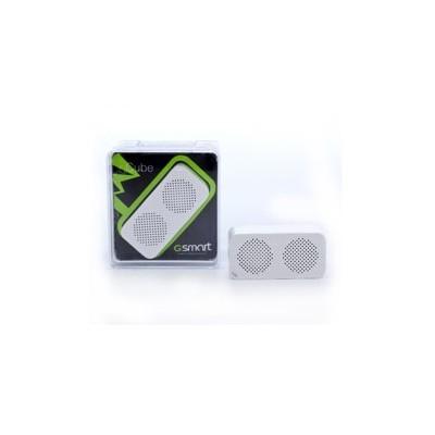 Altavoz bluetooth gigabyte cube con disparador de camara - Imagen 1