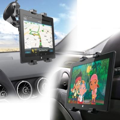Soporte universal de coche 2 en 1 phoenix phcarholderg+ con soporte 1 x ventosa - 1 x reposacabezas valido para tablets hasta 10