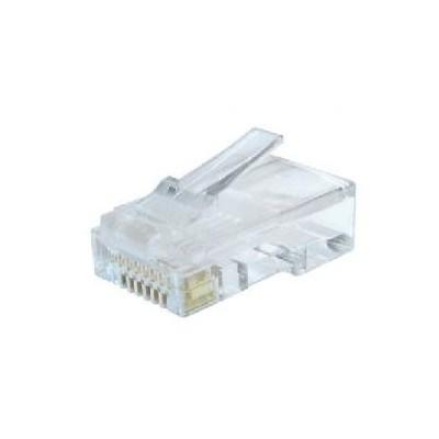 Conector gembird rj45 cat6 bolsa 100 uds - Imagen 1